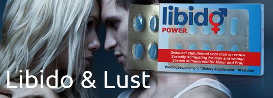 Lust en Libido verhogende middelen veilig kopen